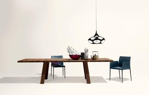 sedia moderna / con braccioli
