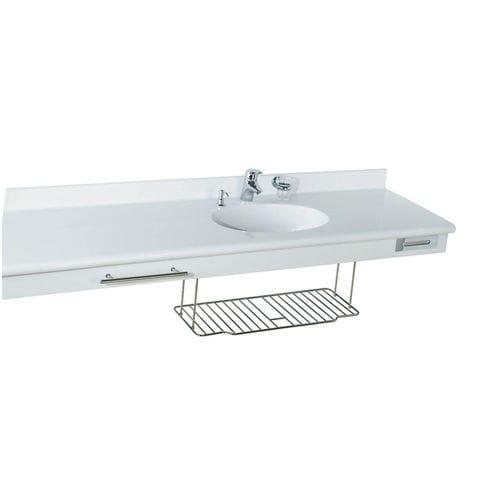 lavabo sospeso / rettangolare / in Pietraluce® / moderno