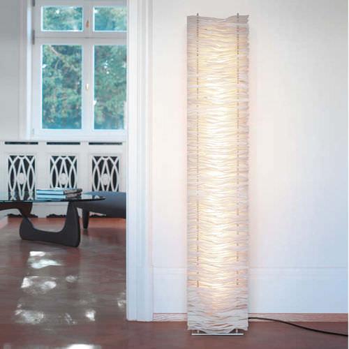 colonna luminosa moderna / in poliestere / LED / da interno