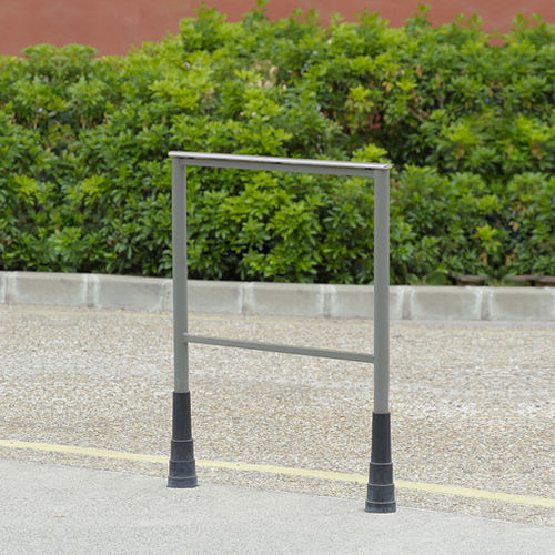 barriera di protezione / fissa / in acciaio / in acciaio inox