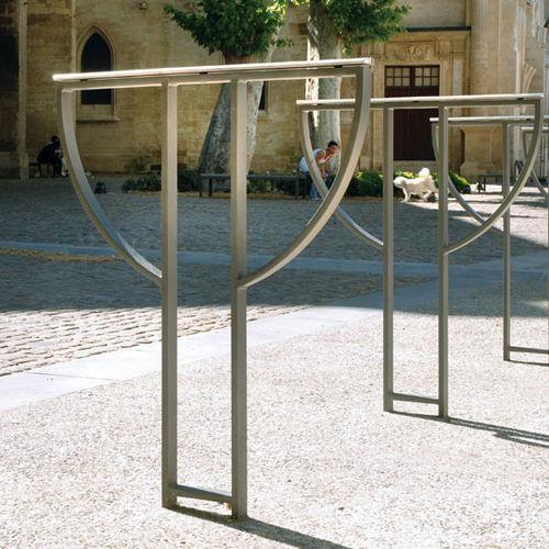 rastrelliera per biciclette in acciaio / in acciaio inossidabile / per spazi pubblici