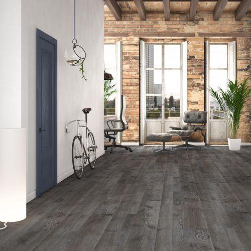 pavimento laminato in quercia / aspetto legno / per uso residenziale / PEFC