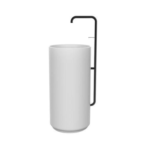 miscelatore per lavabo / da incasso / in metallo / da esterno
