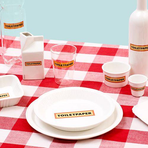 piatto da cena / per dessert / tondo / in porcellana