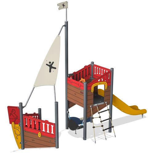 struttura ludica per parco giochi / in HPL / modulare