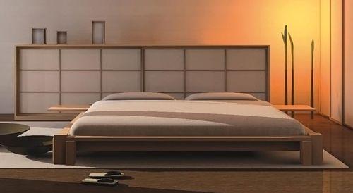 letto matrimoniale / moderno / in legno / 180x200 cm