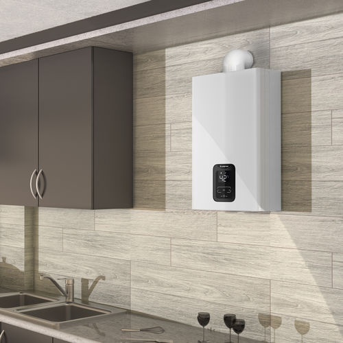 scaldacqua istantaneo a gas / da parete / verticale / residenziale