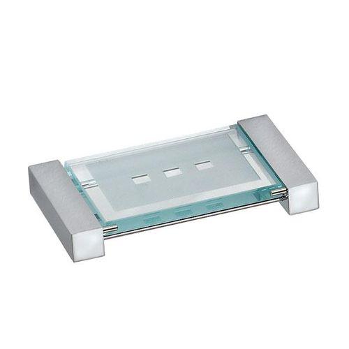 portasapone da parete / in metallo / in vetro