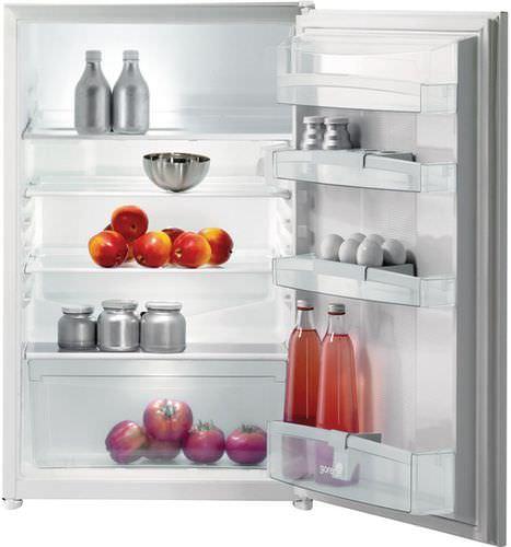 frigorifero per uso residenziale / sottopiano / bianco / da incasso