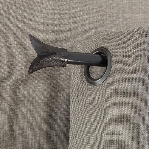 bastone per tende in bronzo