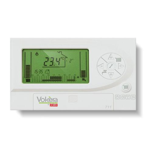 termostato programmabile / a muro / per riscaldamento / con display digitale