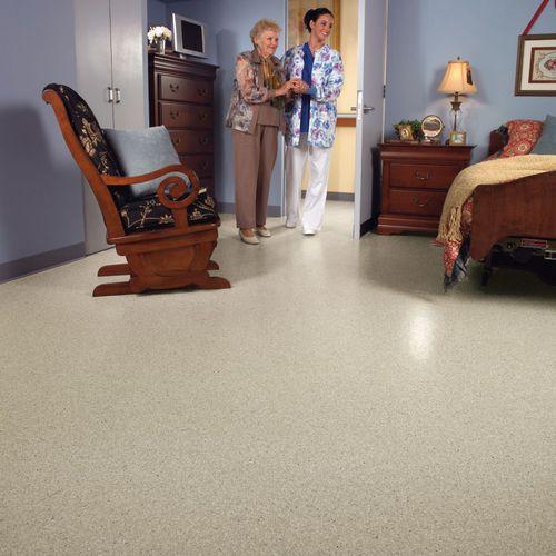 pavimento in vinile / per interni / antiscivolo / professionale