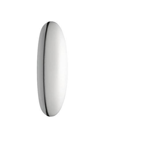 applique moderna / in acciaio / in PMMA / LED