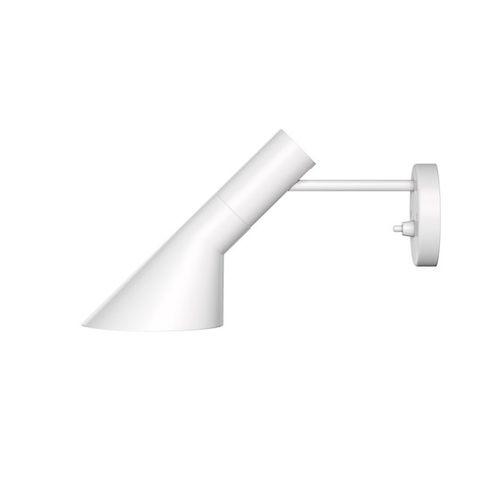 applique moderna / in acciaio / IP20 / bianca