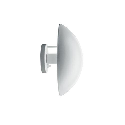 applique moderna / in acciaio / tonda / IP20