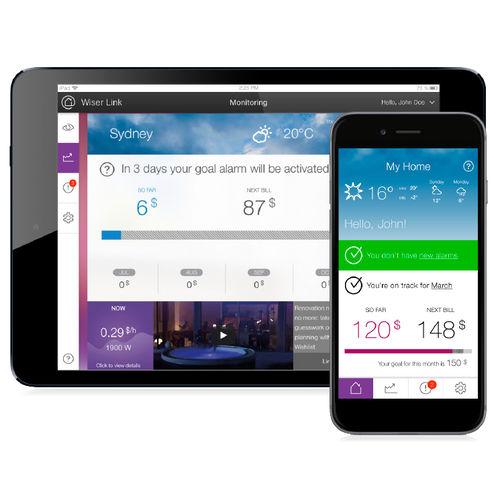 software di monitoraggio / di gestione / per impianto domotico / per smartphone