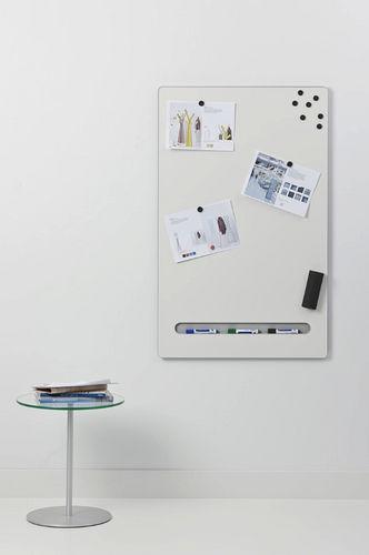 tabellone magnetico / da parete / in acciaio