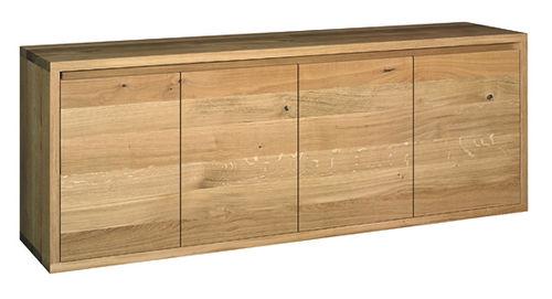 credenza moderna / in legno laccato / in quercia / in legno massiccio