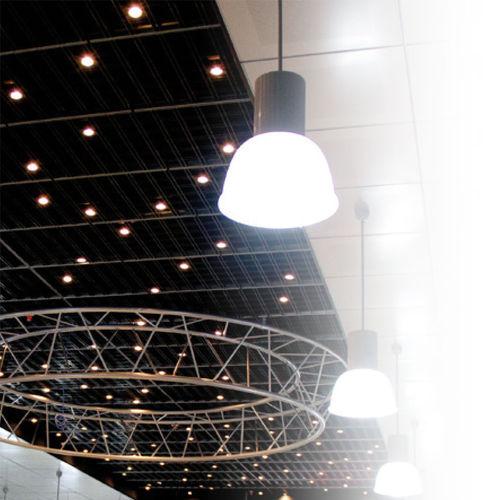 controsoffitto in metallo / a quadrotte / decorativo