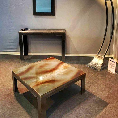 tela metallica per interni / in Plexiglas® / maglia stretta / decorativa