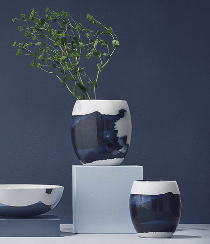 vaso moderno / in alluminio