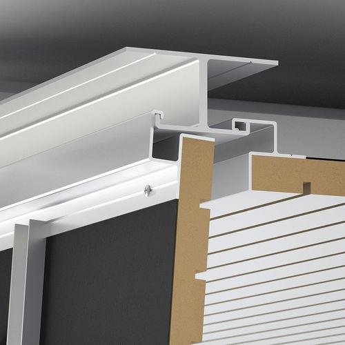 controsoffitto in legno / in alluminio / in pannelli / acustico