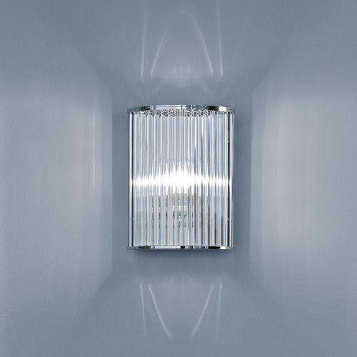 applique moderna / in alluminio / in nichel / in vetro