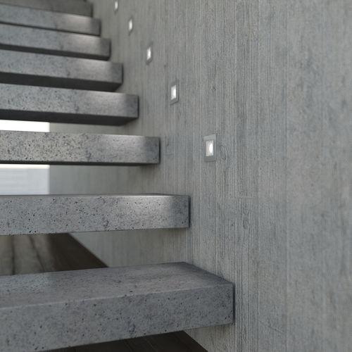 luce da incasso a pavimento / da incasso a muro / LED / tonda