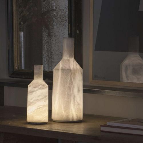 lampada da tavolo / moderna / in alabastro / dimmerabile