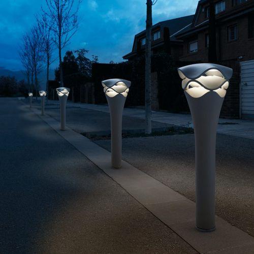 lampioncino per spazio pubblico / moderno / in plastica / LED
