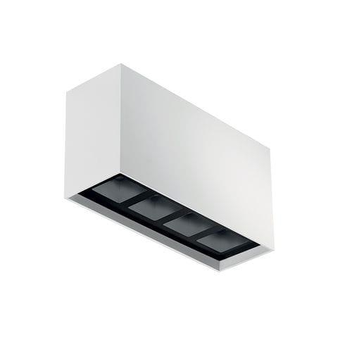 plafoniera moderna / rettangolare / in alluminio / in acciaio