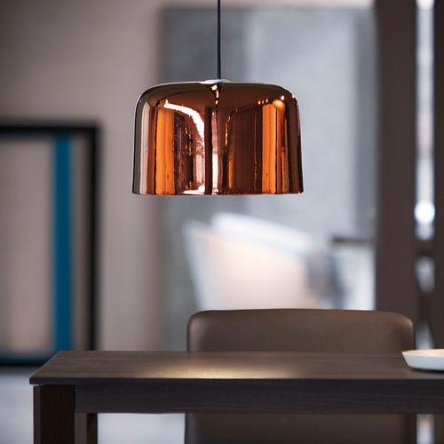 lampada a sospensione / moderna / in terracotta / fatta a mano