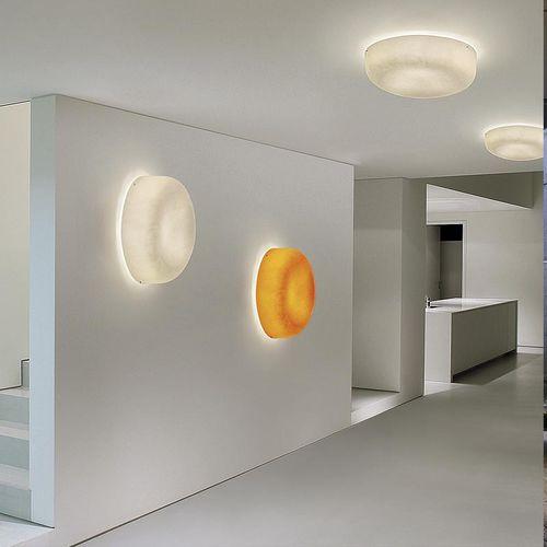 plafoniera moderna / tonda / in fibra di vetro / a lampada fluorescente