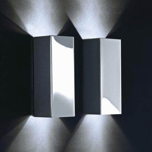 applique moderna / da bagno / in nichel / in ottone cromato