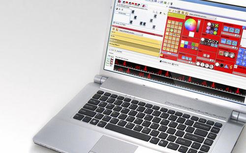software di gestione luci