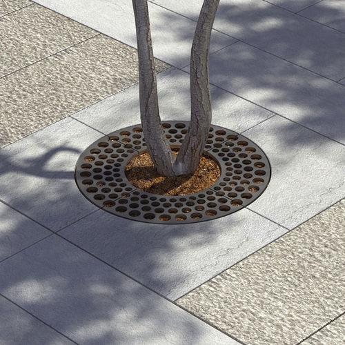 griglia per alberi tonda