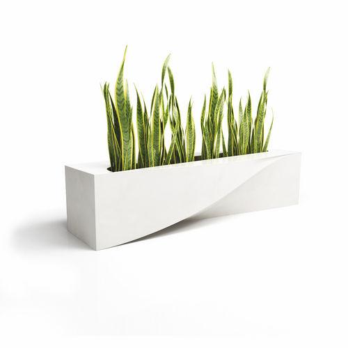 fioriera in acciaio galvanizzato / in composito / design originale / per spazi pubblici
