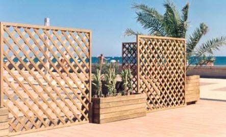 schermatura in legno / da giardino / per terrazza