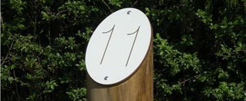 colonna di protezione / in legno / fissa