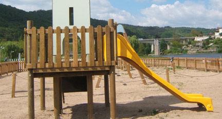 struttura ludica per parco giochi / in legno