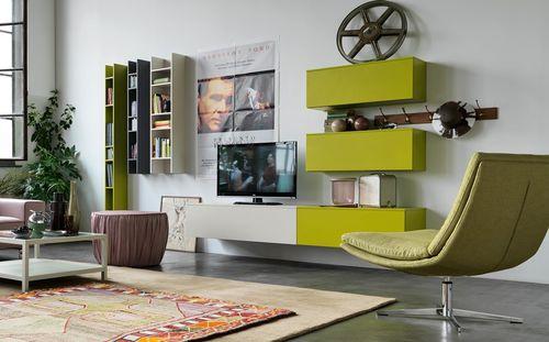 parete attrezzata TV moderno / in legno / modulare