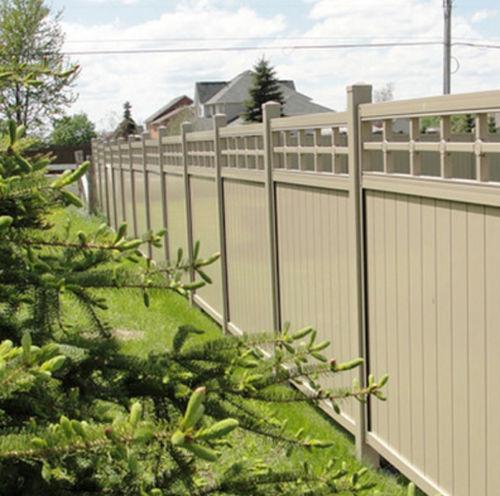 recinzione da giardino / a pannelli / in PVC