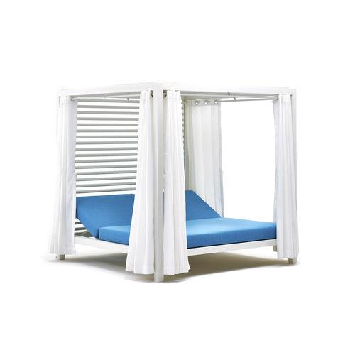 gazebo in alluminio / tetto in tela / per hotel