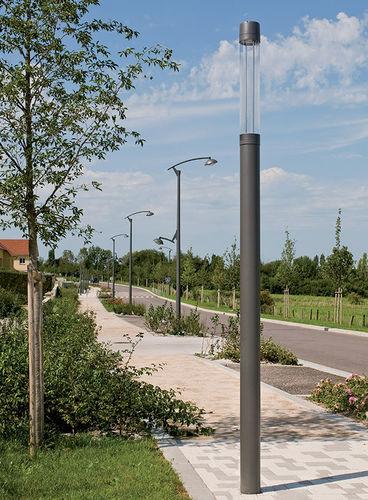 colonna luminosa moderna / in metallo / LED / urbana