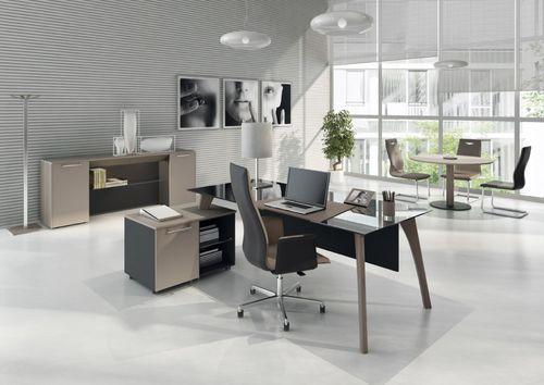 scrivania direzionale / in legno / in laminato / moderna