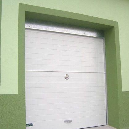 porta battente per garage / in acciaio galvanizzato / automatica