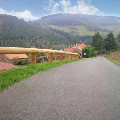 guard-rail in legno