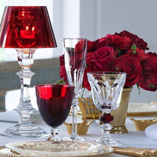 bicchiere a calice / in cristallo / per uso domestico / per ristorante gourmet