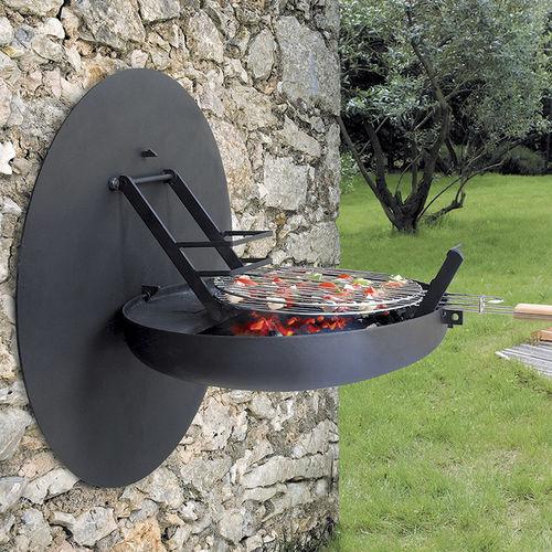 griglia barbecue per camino