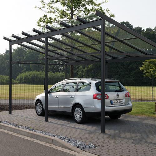 tettoia per posto-auto in alluminio - heroal